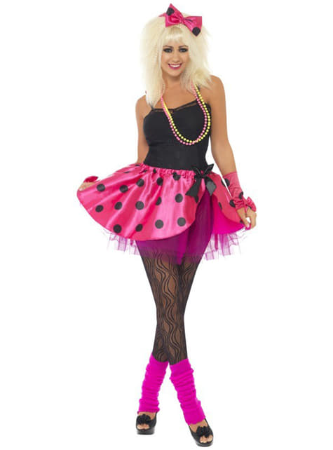 Kit tutu cor-de-rosa para mulher