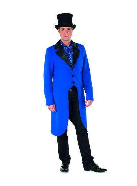 Frac da domatore blu per uomo
