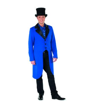पुरुषों के लिए ब्लू टैमर टेलकोट