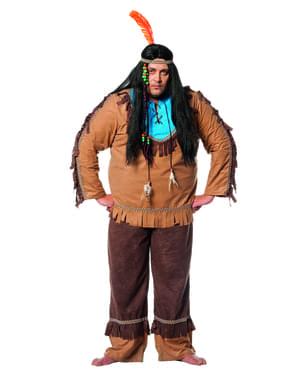 Indianer kostume til mænd