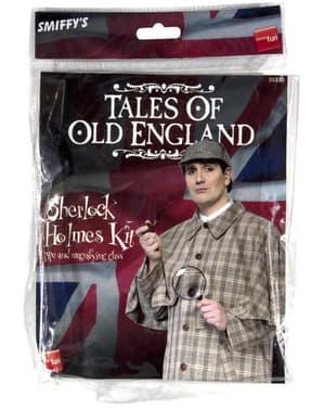 Sherlock Holmes Set für Erwachsene