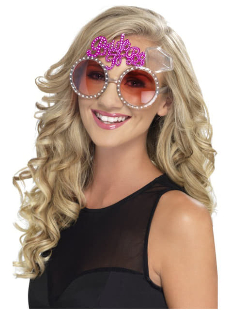 Menyasszony, hogy szemüvegek