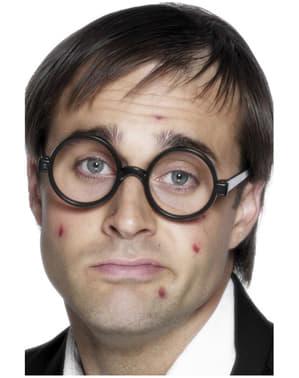 Fekete Geek szemüveg