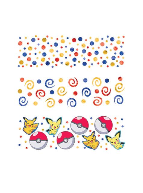 Pikachu Pokemon confetti