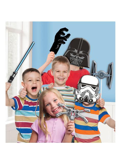 Kit accessoires pour Photo booth Star Wars