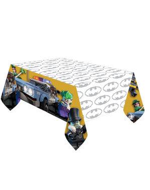 The Lego Batman plastic tablecloth
