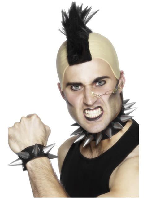 Punk Set mit Halsband und Armband