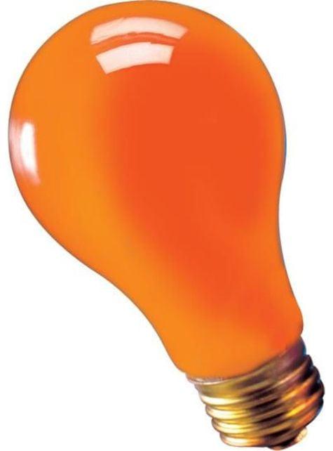 75 watts - orange pære