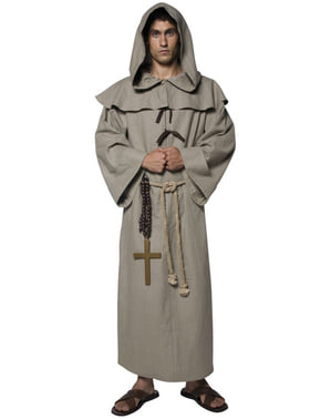 Kostým pro dospělé mnich deluxe