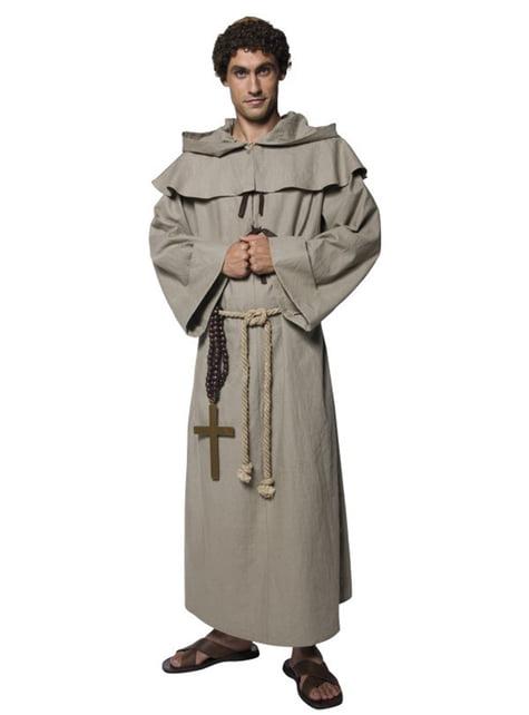 Disfraz de fraile deluxe para hombre - hombre