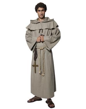 Déguisement de moine de luxe pour homme