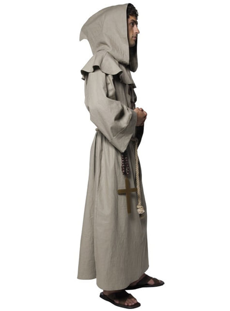 Disfraz de fraile deluxe para hombre - original