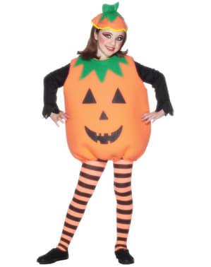 Costum dovleac pentru copii