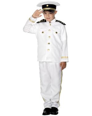 Costum capitanul marinei pentru băiat