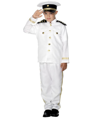 Sea Captain Kids Costume