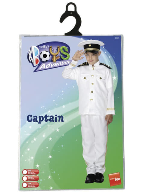 Disfraz de capitán de la marina para niño - infantil