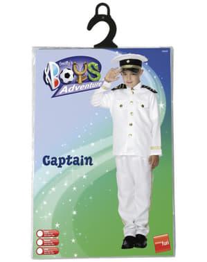 Disfraz de capitán de la marina para niño