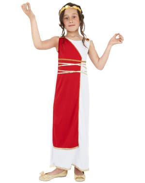 Fato de grega clássica para menina