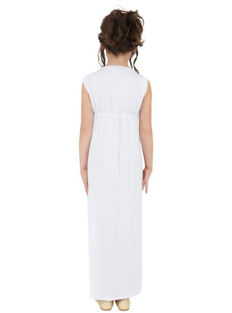 Disfraz de griega clásica para niña - niña