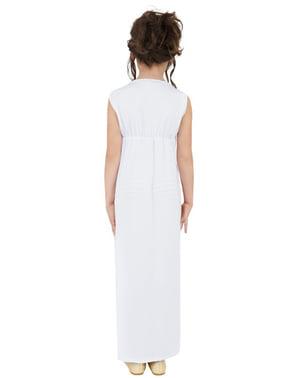 Disfraz de griega clásica para niña