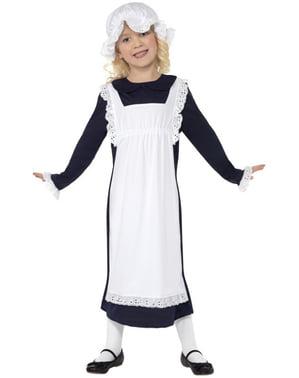 Fattig Viktoriansk Barn Kostyme til Jenter