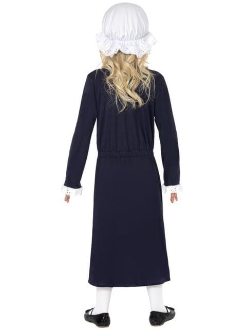 Viktorianische Magd Kostüm für Mädchen