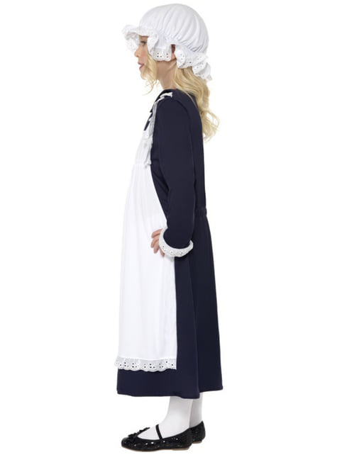 Poor Victorian Girl Kids Costume