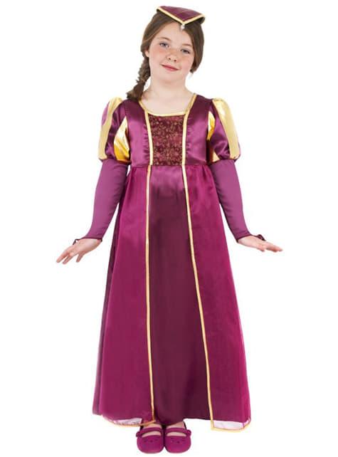 Tudor Lady Kids Costume