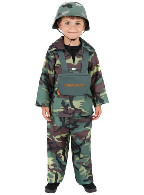 Costum de camuflaj armată pentru băiat