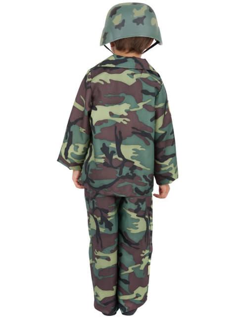 Disfraz de camuflaje del ejército para niño - infantil