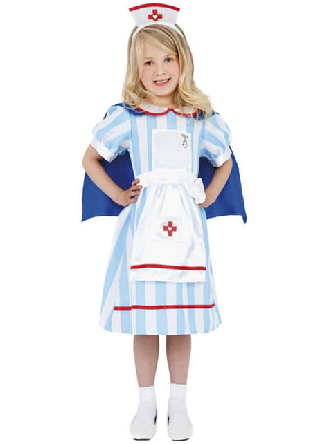 Vintage sairaanhoitaja-asu lapselle