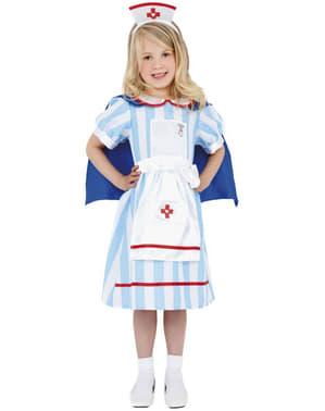 Vintage sygeplejerskekostume til piger