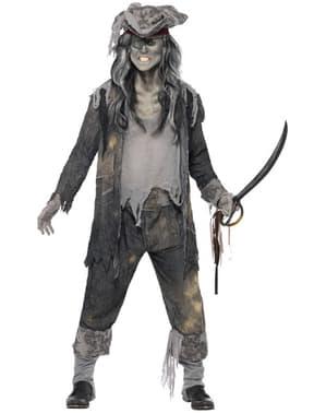 Déguisement de pirate fantôme pour homme