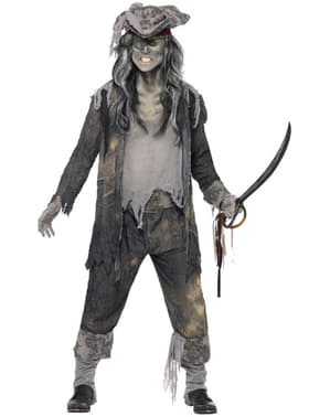 Disfraz de espíritu maligno de barco fantasma
