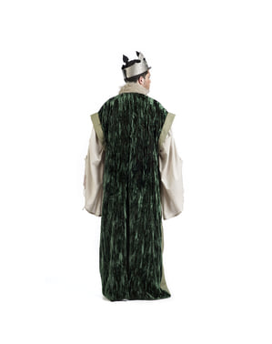 Green kings cape for men