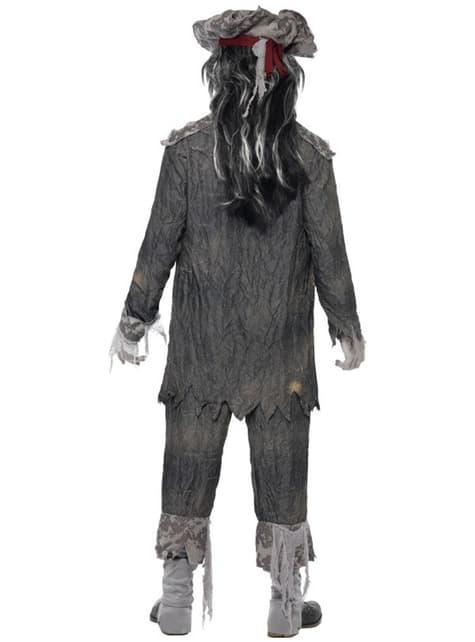Disfraz de espíritu maligno de barco fantasma - hombre