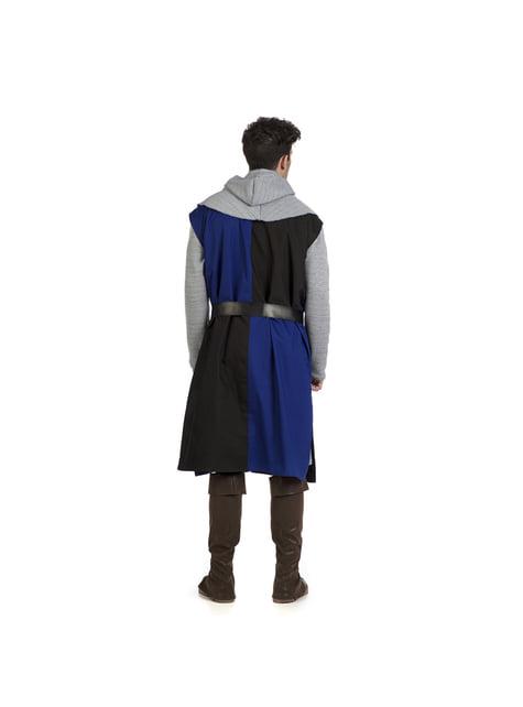 Sobrevesta medieval azul para hombre - hombre