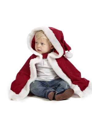 Kerstman cape voor baby's