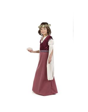 लड़कियों के लिए मध्यकालीन महिला रोसाल्बा पोशाक
