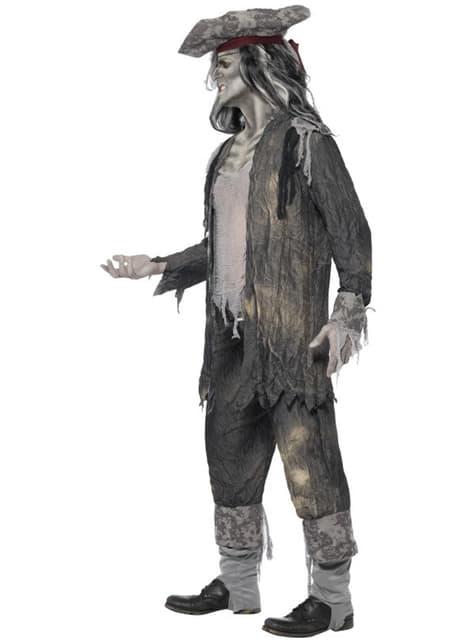 Spökskepp Ond ande Maskeraddräkt