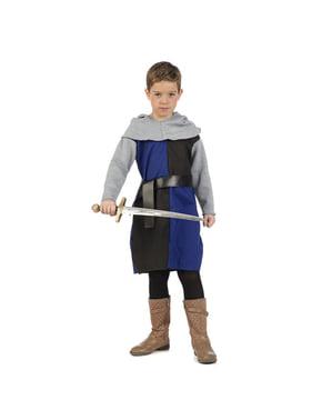बच्चों के मध्ययुगीन नाइट कॉस्टयूम