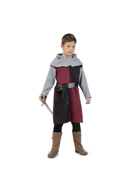 Disfraz de caballero medieval Henry para niño