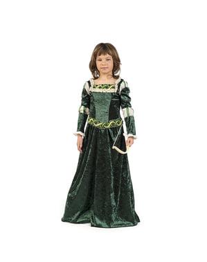 लड़कियों के लिए मध्यकालीन आर्चर पोशाक