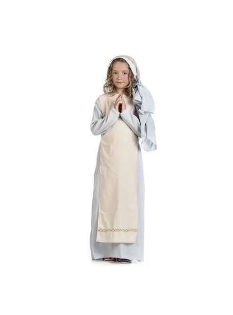Kind Virgin Mary costume for girls