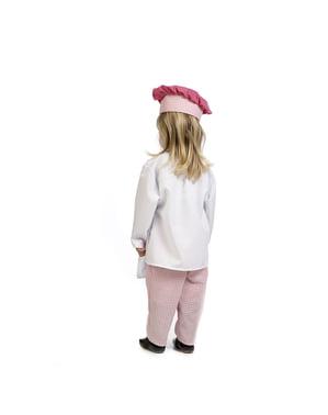 Bebekler için şef kostümü