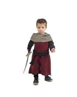 Fato de medieval Gastón para bebé