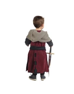 Disfraz de medieval Gastón para bebé