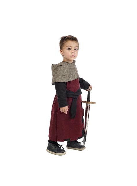 Disfraz de medieval Gastón para bebé - original