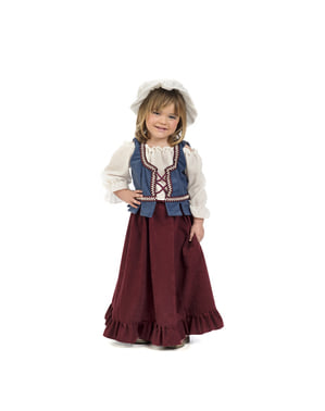 Middelalder vert kostyme til babyer
