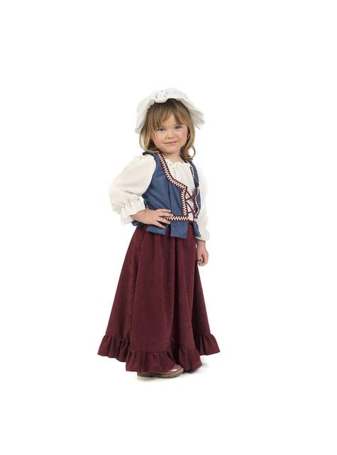 Disfraz de tabernera medieval para bebé - bebe